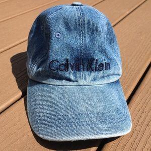 Calvin Klein Denim Hat | Adult One Size